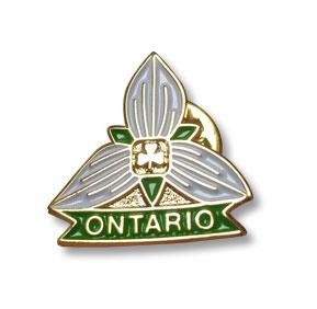 Ontario Friendship Pin   Trillium